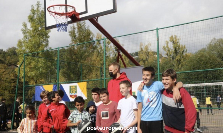 NBA球員Dzanan Musa在薩拉熱窩開設運動場