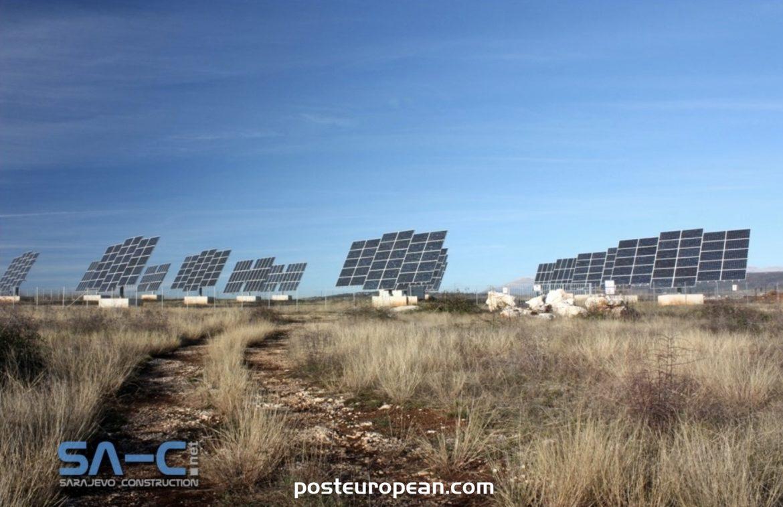 特雷比涅將建巴爾幹半島最大的太陽能公園