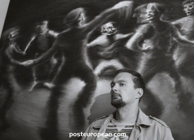 畫家Safet Begic是聯合國展覽中來自該地區的唯一藝術家