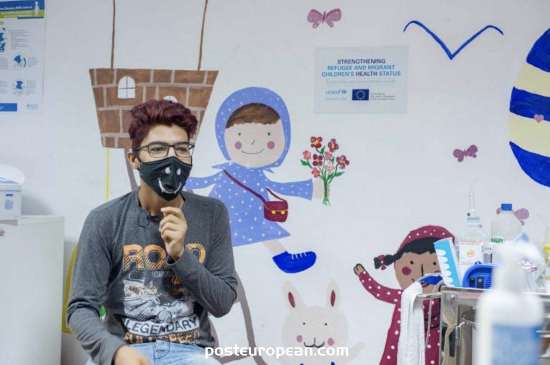 Borici和Sedra接待營的兒科診所為許多移民提供了幫助