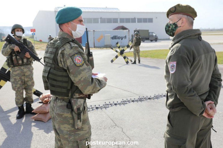 歐盟部隊萊因哈德·特里沙克少將評論快速反應部隊