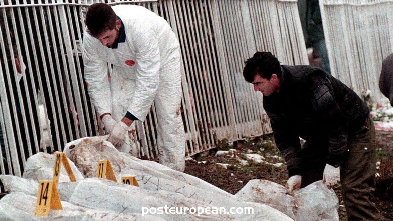 波斯尼亞和塞爾維亞交換挖掘出戰爭遺骸