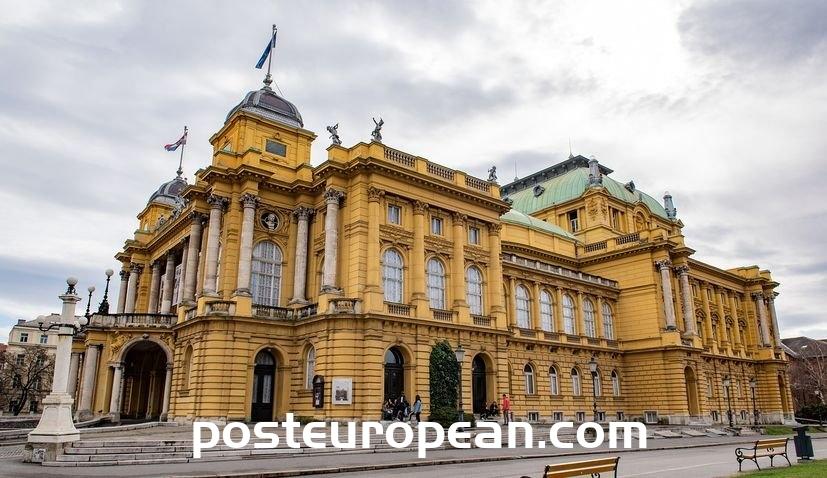 克羅地亞國家大劇院:警察在薩格勒布的文化偶像面前結束群眾集會