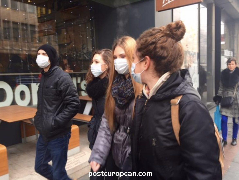薩拉熱窩今天早晨是世界上污染最嚴重的城市之一