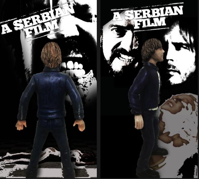 擾亂封面的重新設計,特別是SERBIAN FILM特別版重新發布+ Milos動作模型!