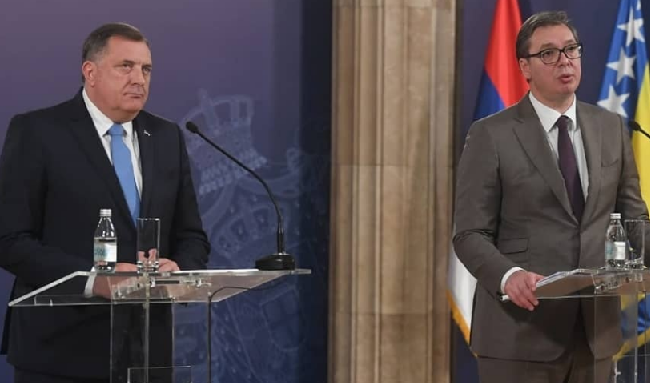 波斯尼亞塞族領導人再次否認斯雷布雷尼察種族滅絕,塞爾維亞總統迴避回答